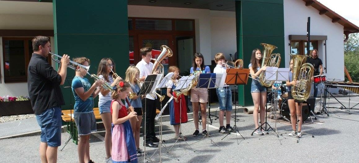 Musikverein Hengsberg Sommerkonzert der Musikschule
